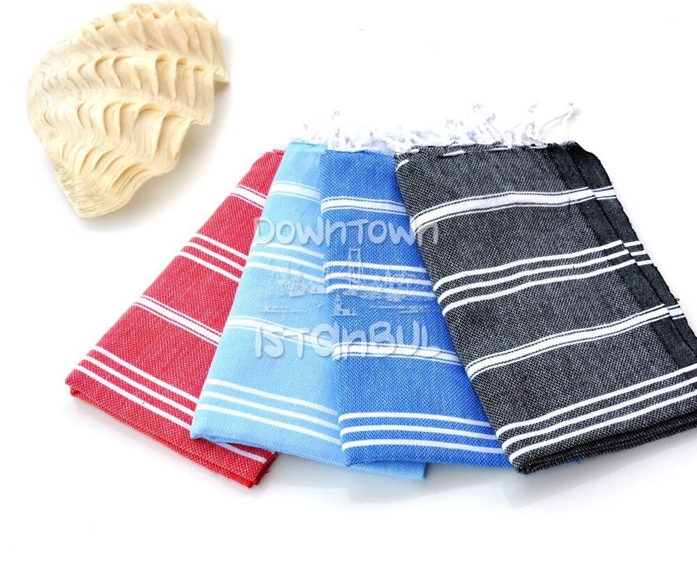 French Kitchen Hand Towels Set Of 4 Peshkir Kitchen Towel