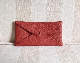 Leather wallet - envelope
