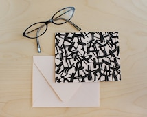 The City Folded Note Card with Envelope