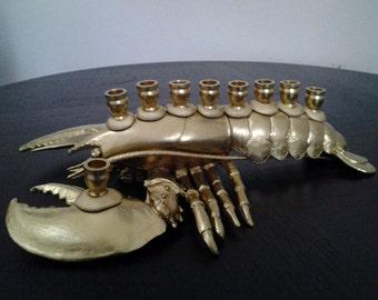 Menobster: Lobster Menorah
