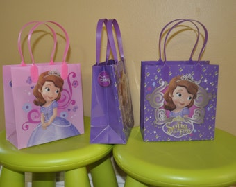 Small Sophia the First Party Favor Bags