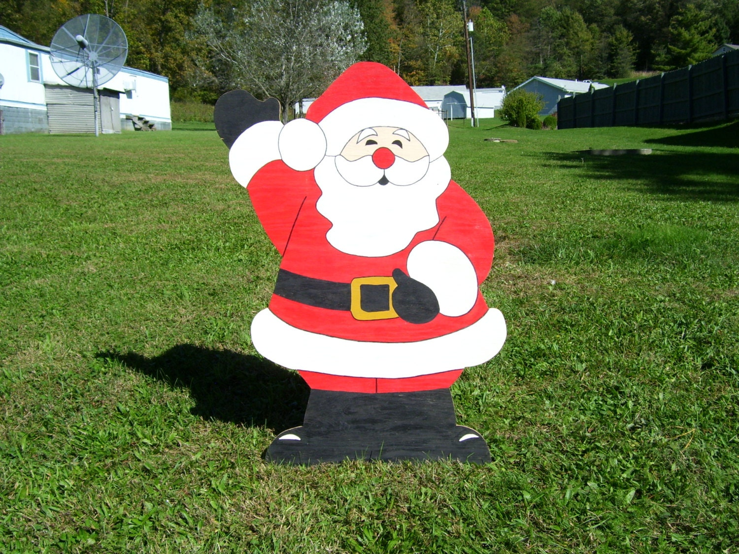 Christmas wooden yard decorations - Like This Item