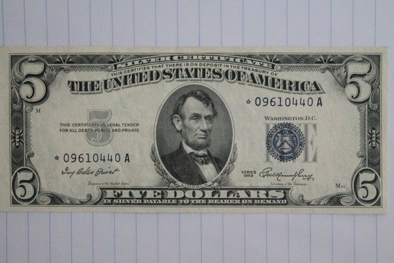 dollar silver 1953 certificate choice star revisit later favorites