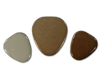 Brown & Grey Pebble Assortment - 1 lb Bag