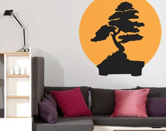 CREATIVE DESIGN:  The Tree of Life Wall Decal Art Home Deco Vynil Office Living Room Front Desk