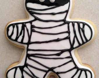 Mummy Cookies - One Dozen (12)