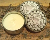 Lavender and Chamomile Body Butter made with Shea and Cocoa Butter. Handmade and Vegan Friendly. 100% Natural ingredients.