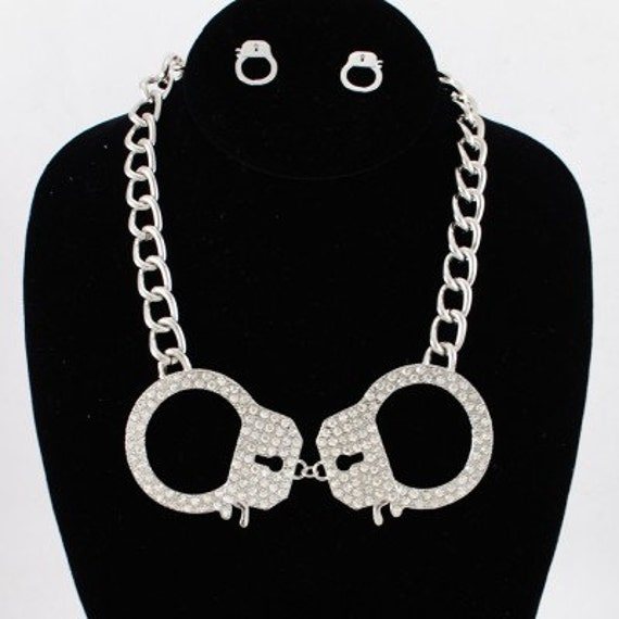 nancy grace handcuff necklace related keywords nancy