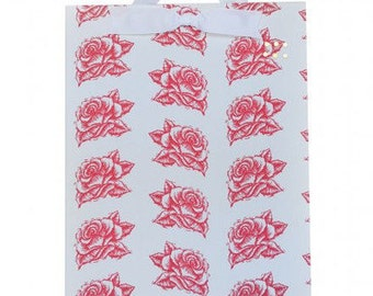 Red Rose Fabric Magnet Board