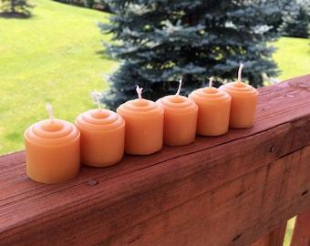 Citronella Essential Oil Beeswax Mini-Votive Candles