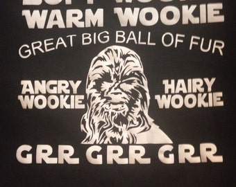 Star Wars Wookie shirt