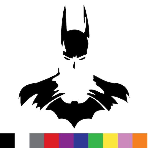 Batman Silhouette Custom Vinyl Decal Sticker Car by ... Batman Silhouette