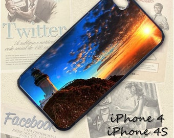 Lighthouse Scenic Nature cell phone Case / Cover for iPhone 4, 5, Samsung S3, HTC One X, Blackberry 9900, iPod touch 4 / 051