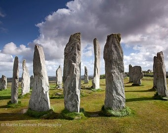Callanish Stones, Isle of Lewis - Mounted Photographic Print of the Scottish Outer Hebrides