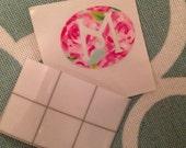 Custom Monogram Pacifier Waterproof Vinyl Decal by That Southern Chick