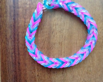 Rainbowloom Fishtail Bracelet