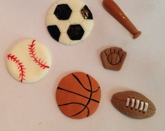 12 pcs Sport theme party decorations
