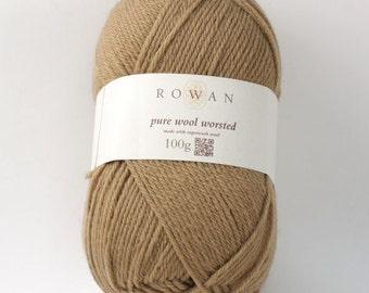 Rowan Pure Wool Worsted Machine Washable Yarn - Toffee 00104