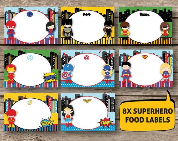 superhero supergirl labels set of 8 instant by redapplestudio blank superman logo template blank superman logo vector
