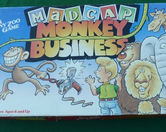 Mad Cap Monkey business children's game