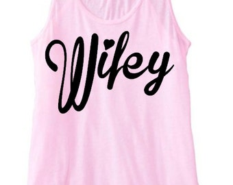 Wifey Racerback Tank Top T-Shirt Bride to Be Pink Top