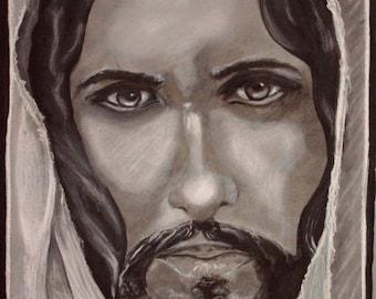 Jesus is my Savior - Jesus painting