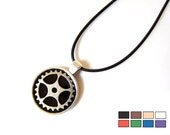 Steampunk Necklace - Gear...