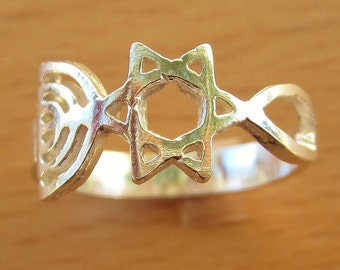 Grafted-In Ring // Messianic // Handmade in Israel