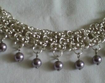 Silver and Lavendar