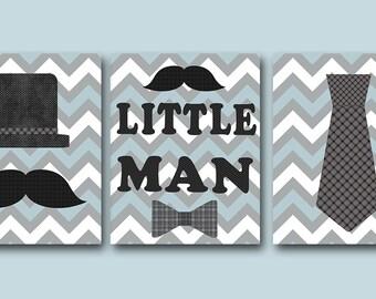 Little Man Download Art Printable Nursery Baby Boy Nursery Print Baby Art Digital Decor Digital Print set of 3 8x10 11X14 INSTANT DOWNLOAD