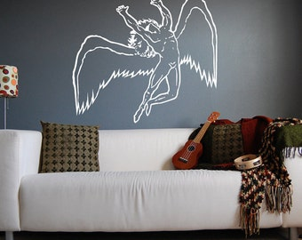 Led Zeppelin Swan Song Wall Decal Sticker