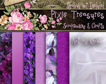 Purple Papers Scrapbooking papers