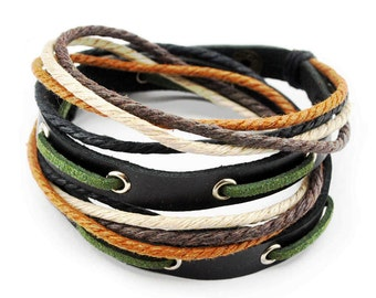 axy wrap bracelet TWIC11-7! Leather Bracelet