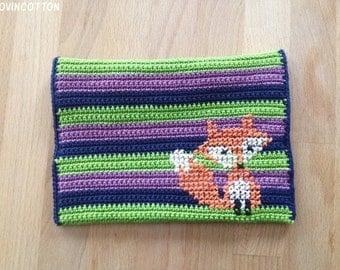Kobo Touch E-reader cover-little Fox