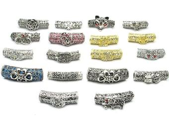 Wholesale: DIY Crystal Tibetan silver jewelry accessories-WEN35231143885-MAY