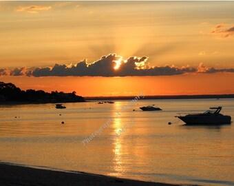 Scenic Sunset Photo - 5x7, 8x10, 11x14, 16x20, 20x30
