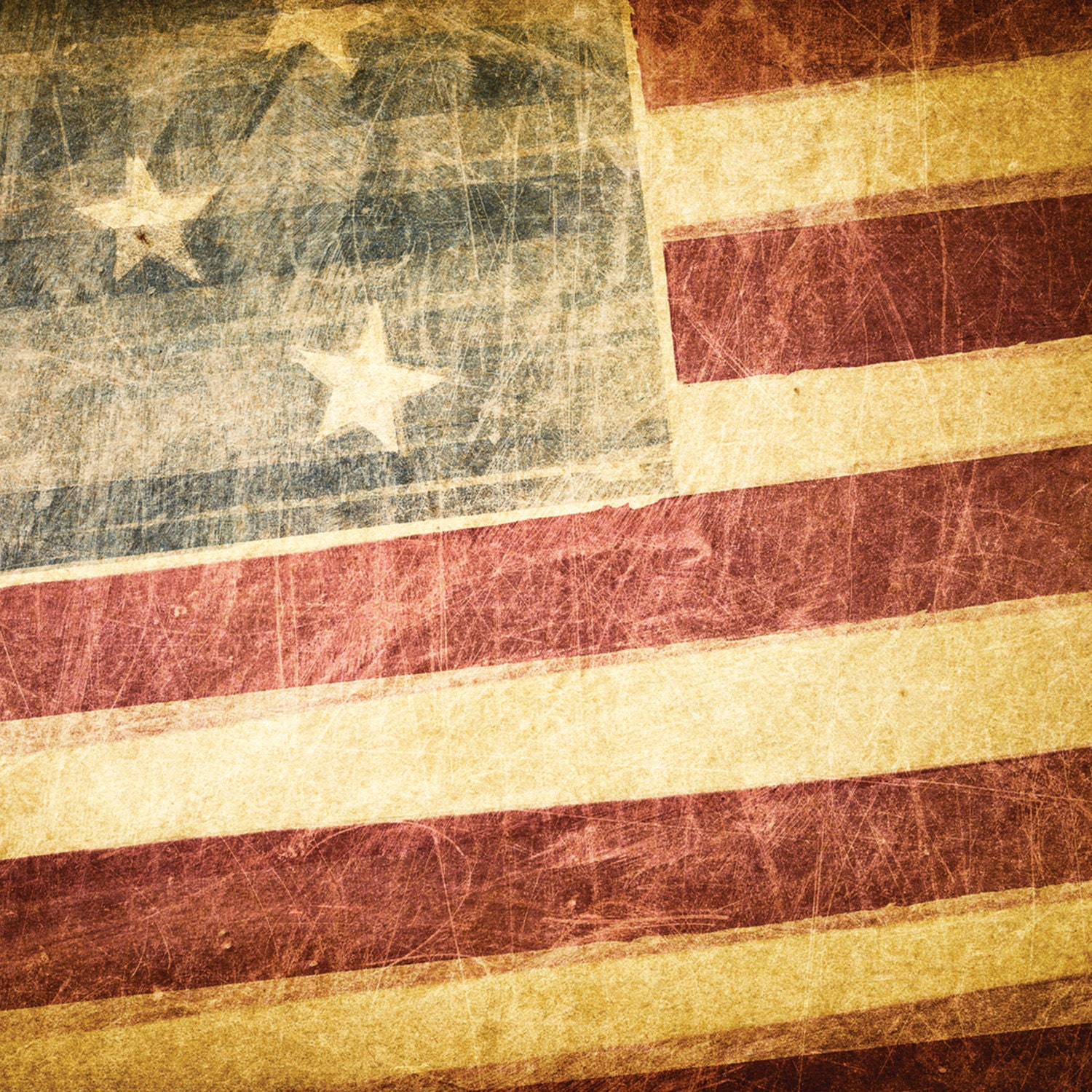 Rustic American Flag Wallpaper American Flag Grunge Style