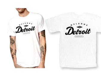 Welcome to Detroit 313 T-Shirt