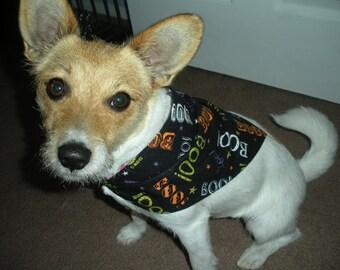 Dog Bandana Halloween Boo!