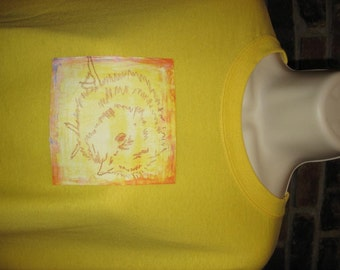Funky Chick Tshirt Size Large