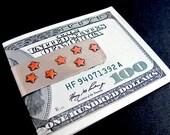 Money Clip - Copper Stars