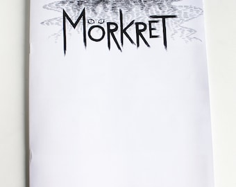 Mörkret, horror comic by Johanna Öst (Swedish version)