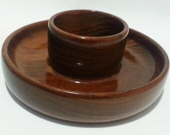 Cocobolo Wood  Bowl, Exotic Wood Lathe Turned Bowl , Housewares, Kitchen, Home Decor Art