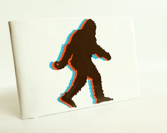 Sasquatch Duct Tape Wallet - by jDUCT