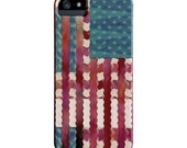 Flag iPhone 5 Case, Funky Abstract Art case, artist designed iPhone Case, iPhone 5S case, iphone 6, Galaxy S6 Case