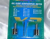 Aanraku Twofers – 1/4″ Grinder Bits – Standard Grit // INCLUDES 2 BITS // fits most grinders