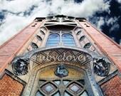 L'Eglise Saint Jean de Montmartre, PARIS CATHEDRAL, Stone Church, Abbesses, 18th Arrondissement, Soaring, Art Nouveau, Looking Up to the SKY