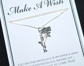 Rose Gun Wish Necklace - Buy 3 Items, Get 1 Free