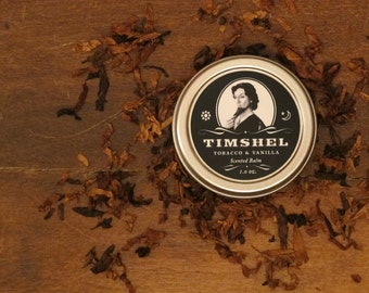 REFORMULATED • Timshel - Tobacco and Vanilla Scented Balm