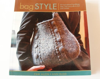 Bag tutorial book - How to 20 knit and crochet projects - Craft Book